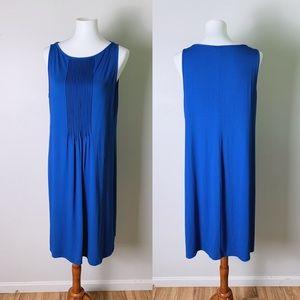 J. JILL Wearever Collection Tank Pleated Dress